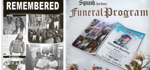 Funeral Program Lyrics BY Squash