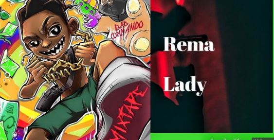 Lady lyrics BY Rema