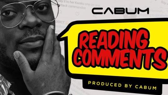 Reading Comments Lyrics BY Cabum