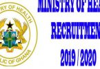 Ministry Of Health (MOH) Nationwide Recruitment