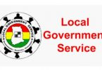 Recruitment 2020/2021: Local Government Service