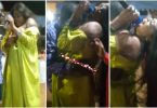WATCH VIDEO: Sh0cking as man $ucks br£a$t of a female MC at a party