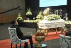 More Touching Photos Of AKA During Nelli's Funeral Service