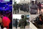 Partygoers run for their dear lives as police and soldiers storms nightclub in Kumasi