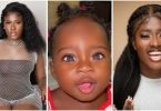 Actress Fella Makafui's daughter stuns Ghanaians with her sparkling eyes