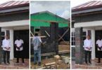 Check out photos of Ghana's first house made from plastic waste