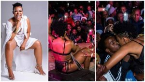 Video of Zodwa Wabantu being 'groped' by male fans causes outrage