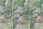 Lady caught being chewed in the bush during WRC rally event in Naivasha