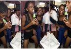 Wild video of young woman sucking on a beer bottle in a club causes stir